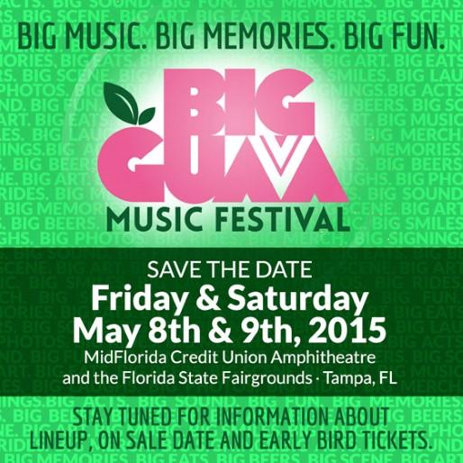 2015 Big Guava Music Festival Lineup Announced