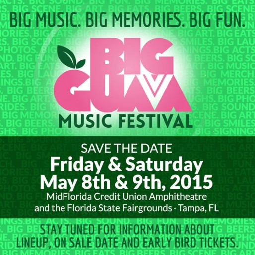 2015 Big Guava Music Festival Lineup Announced