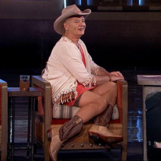 Watch Bill Murray On Jimmy Kimmel Live During SXSW