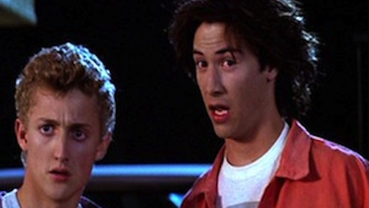 Keanu Reeves Says <i>Bill & Ted 3</i> is Still in the Works