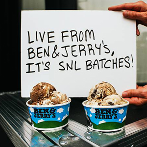 Ben and Jerry's Announces Two New <i>Saturday Night Live</i>-Inspired Flavors