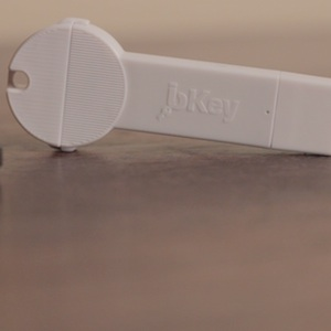 bKey is an Extra Charge of Battery That Fits on Your Keyring