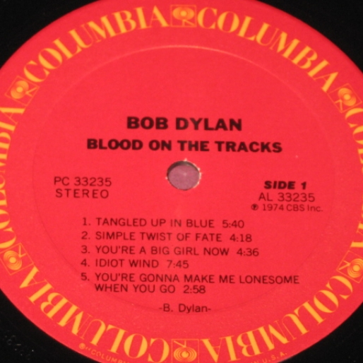 Dinner & a Disc: Bob Dylan's <i>Blood on the Tracks</i>