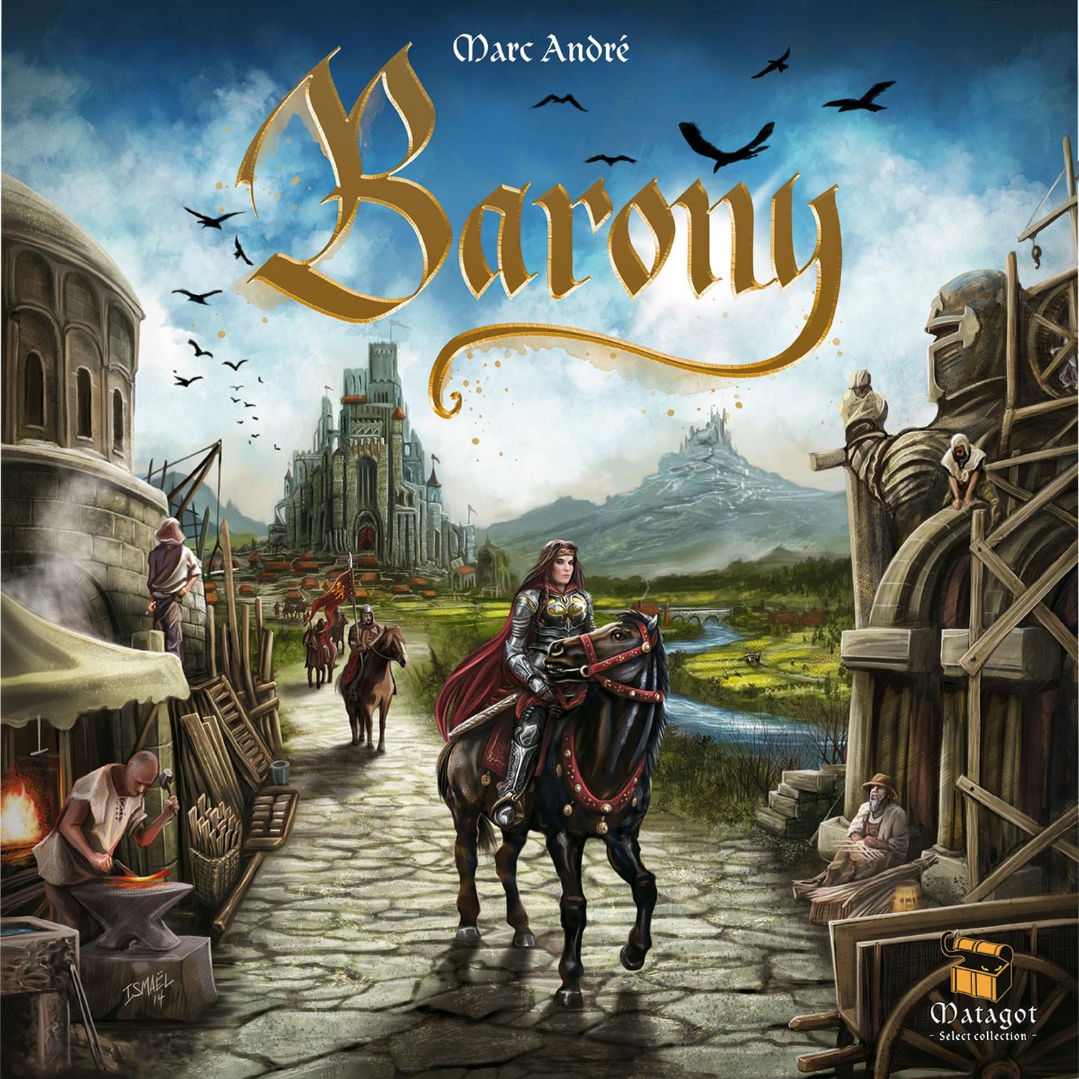 Boardgame Barony