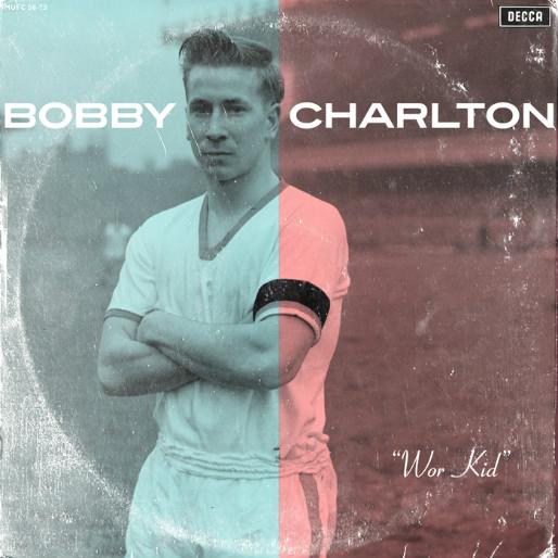 24 Legendary Soccer Players as Vinyl LP Covers