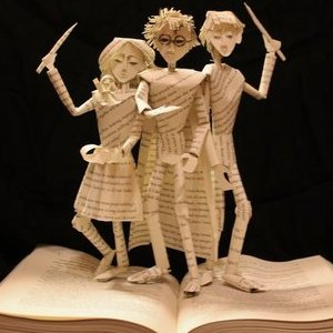 Stories Leap from the Pages of These Book Sculptures