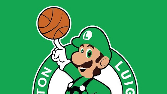 Check Out These NBA Logos Remade With Videogame Characters