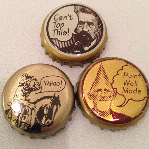 Bottle Cap Art: A Gallery of Tiny Awesomeness