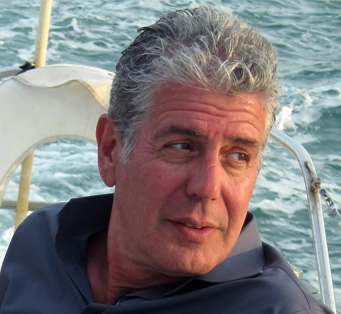 Modern School of Film Series To Launch with Guest Anthony Bourdain