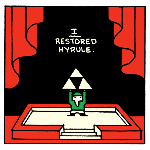 Exclusive: Box Brown's Comic Strip About The Legend of Zelda