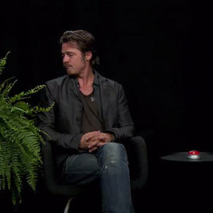 Watch Brad Pitt Brave The Hot Seat On Zach Galifianakis' <i>Between Two Ferns</i>