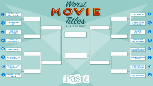 Bracket of the Week: Worst Movie Titles of 2013, FINALS
