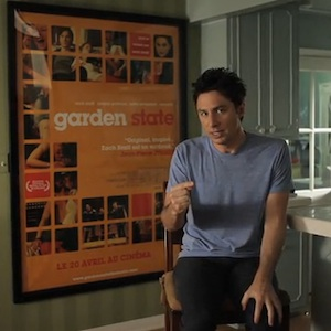 Zach Braff Launches Kickstarter Campaign for <i>Wish I Was Here</i>