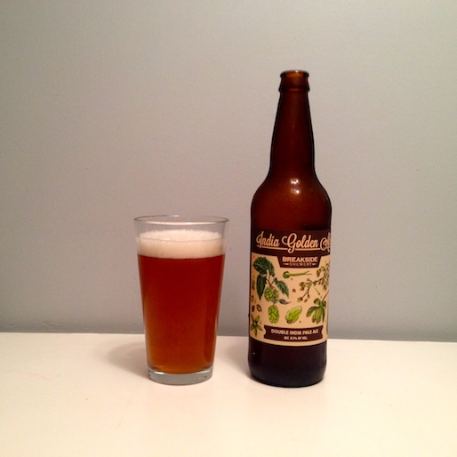 Breakside India Golden Ale Review