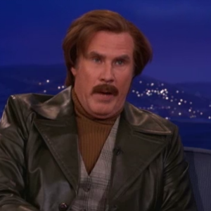 Watch Ron Burgundy Talk Prison Riots, Sing to Rob Ford on <i>Conan</i>