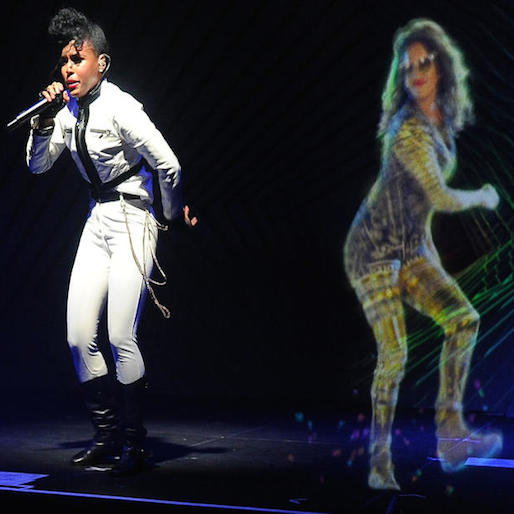Janelle Monáe and M.I.A. Holograms Share Stages in Calif. and N.Y.