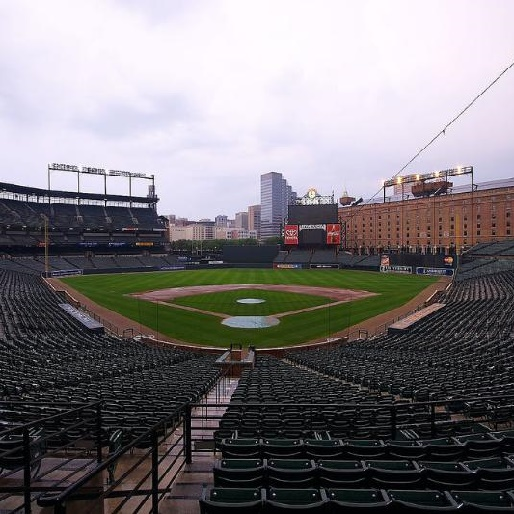 Watch the Orioles and White Sox Play in an Empty Ballpark