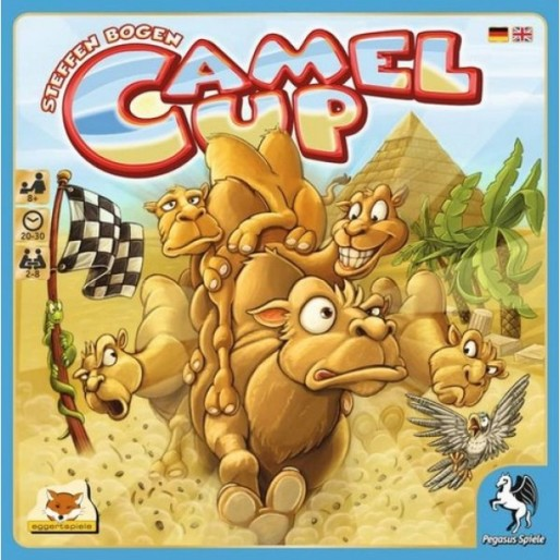 <em>Camel Up</em> Boardgame Review: Gambling Fun for the Whole Family