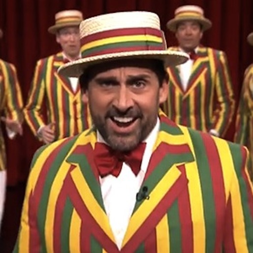 Watch Steve Carell Cover Marvin Gaye With Jimmy Fallon's Barbershop Quartet