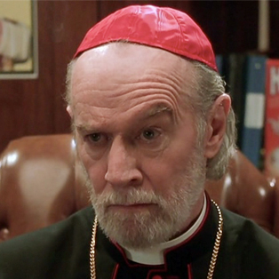 Clerical Error Puts Catholic Church on George Carlin Way