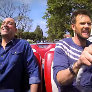 Watch Joel McHale's Drug-Fueled <i>Comedians in Cars Getting Coffee</i> Parody