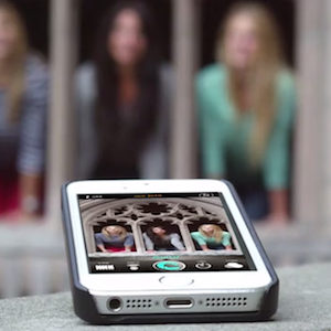 CaseCam is a Tripod and Remote Built into an iPhone Case