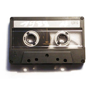 """""""Cassette Tape"""" Cut From Oxford English Dictionary"""