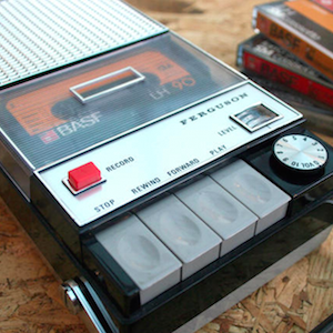 Hipsters Rejoice: This Cassette Player Can Play Spotify Playlists on Actual Tapes