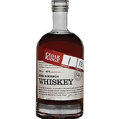 Cedar Ridge Iowa Bourbon Whiskey Review