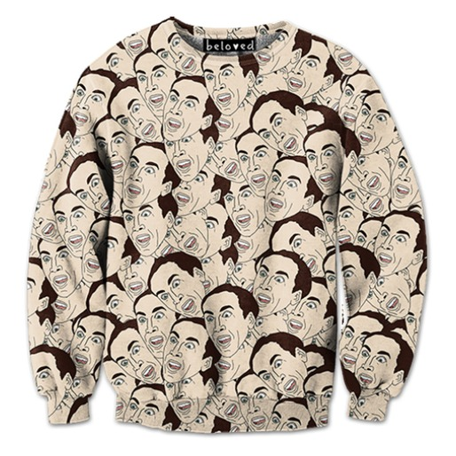 Ryan Gosling, Nicolas Cage, and 15 Other Celebrity Faces You Can Wear On Your Body