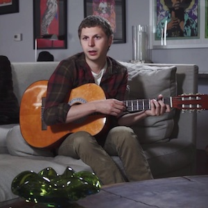 "Watch Michael Cera, Jenny Slate Cover Meredith Brooks' ""Bitch"""
