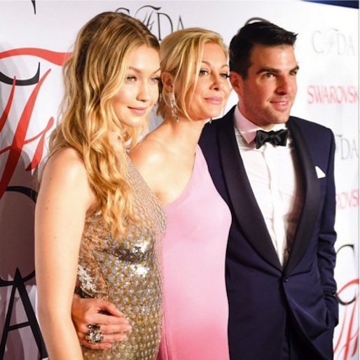Pacey's Girlfriend Crushes and Joey Potter Looks Ready for Prom at Last Night's CFDA Awards