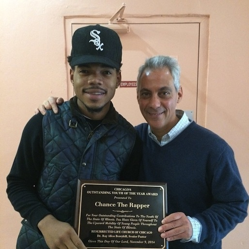"""Chance the Rapper Wins Chicago's """"Outstanding Youth of the Year Award"""""""