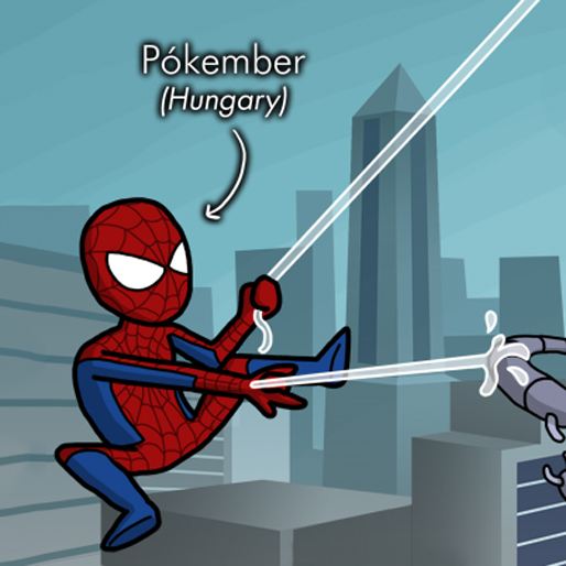 Artist Illustrates Names of Marvel Characters From Around the World