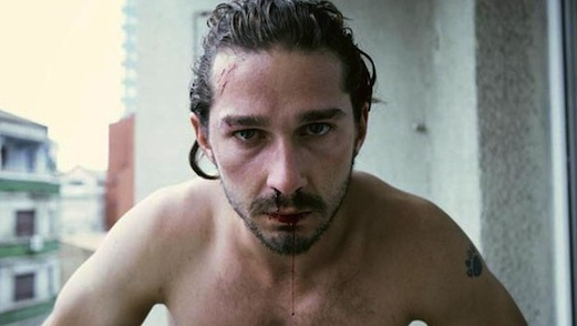 Shia LaBeouf Dons a Bag on His Head for Berlin Press Conference