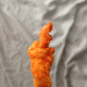 Sometimes Art Can Be Found Where You Least Expect It...Like in a Bag of Cheetos