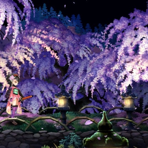8 Games Full of Cherry Blossoms