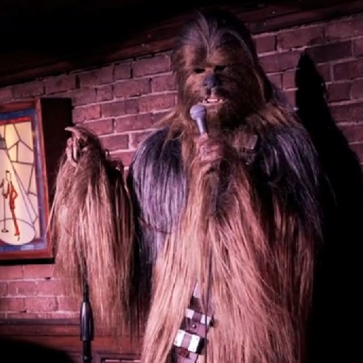 Watch Chewbacca Crash <em>Louie</em>'s Opening Credits