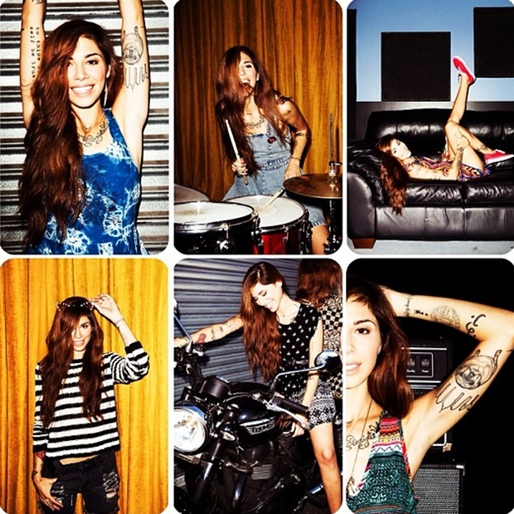Christina Perri Teams with Mink Pink for Spring Campaign