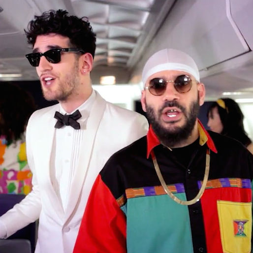 "Watch Chromeo's ""Fly Safe, Stay Funky"" Pre-Flight Safety Video"