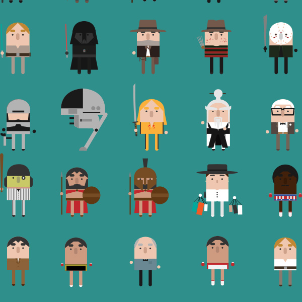 Adorable Animated Timeline of Movie Classics