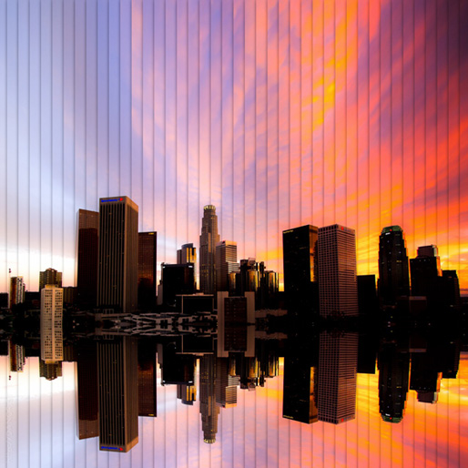 'Time Slice' Photography Captures Cities During Sunset