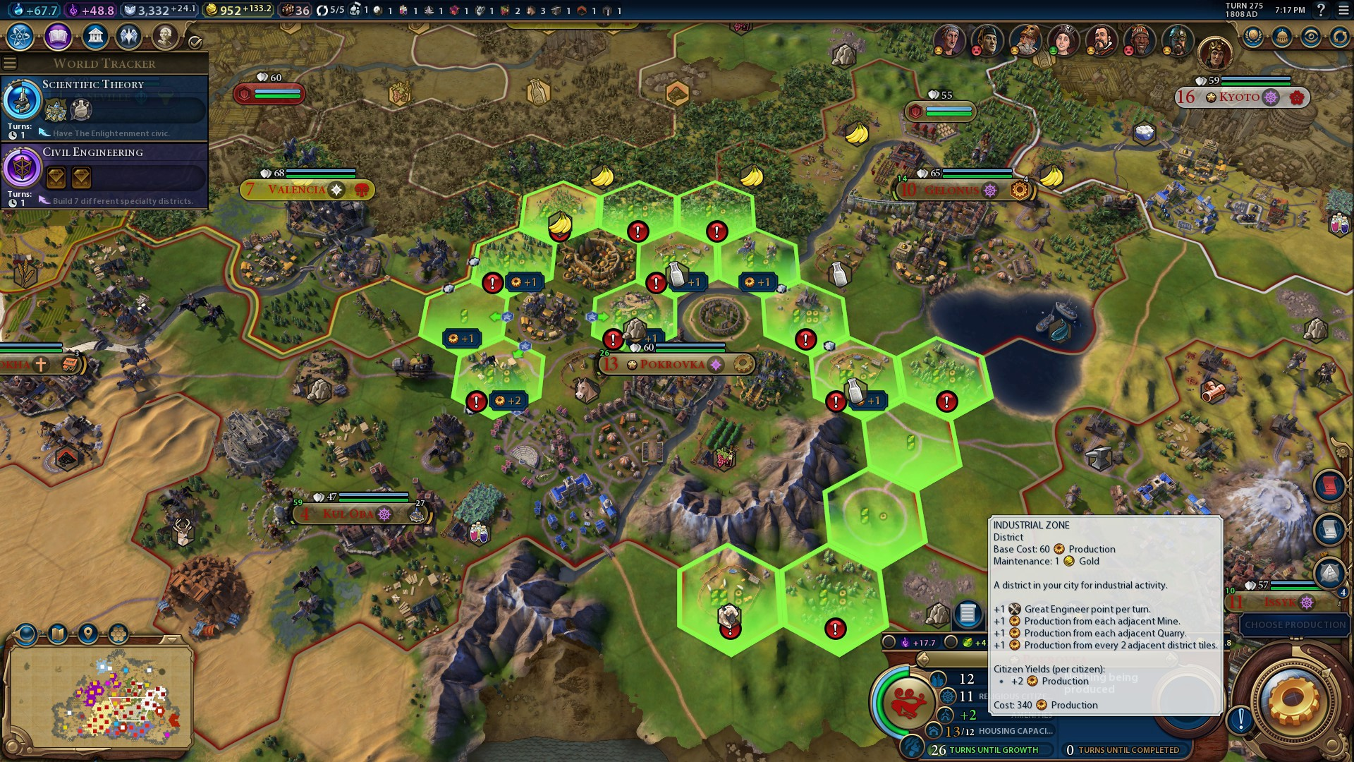 Civilization VI Builds on the Core Values of Civilization V