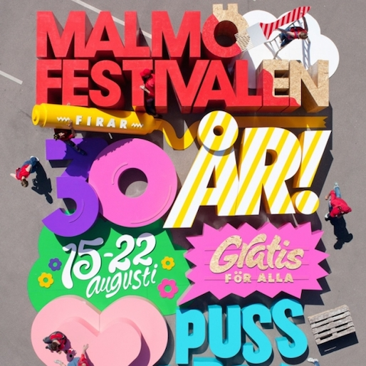 Sweden Designs Interactive Summer Festival Poster