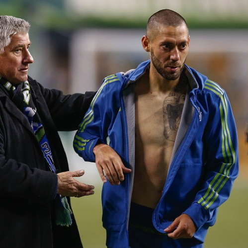 Squad: Clint Dempsey Rips Up Referee's Notebook on Teammate's Behalf