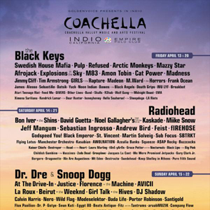 Coachella Announces 2012 Line Up
