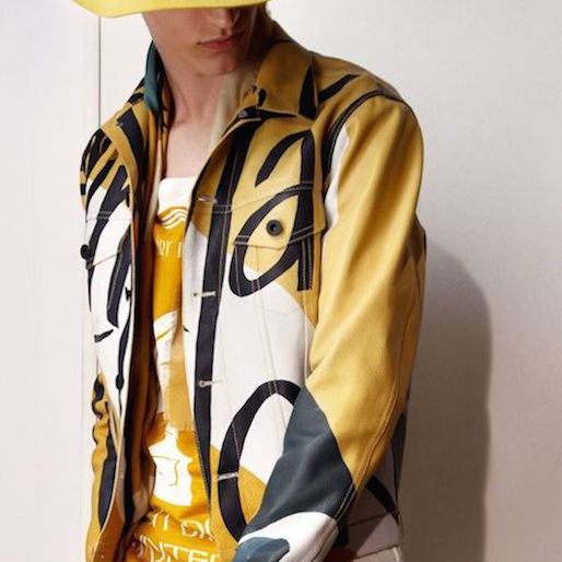 Burberry Jazzes Up Their 2015 Men's Line with Typography