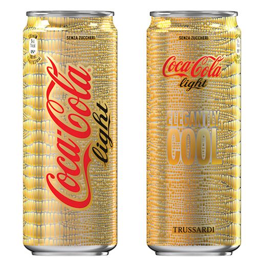Coke Collaborates with Luxury Brand Trussardi for Design Centennial