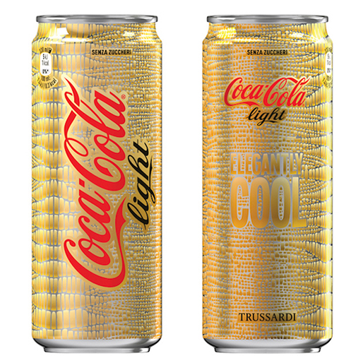 Coke Collaborates with Luxury Brand Trussardi for Design Centennial