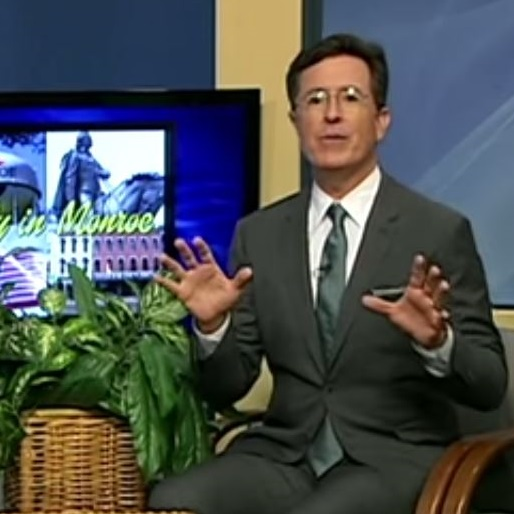 Stephen Colbert Hosted a Public Access Talk Show in Michigan